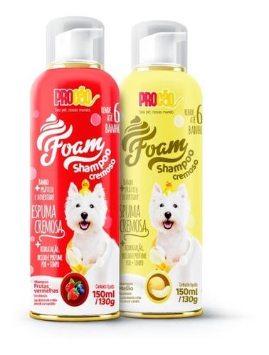 Imagem 1 de 1 de Foam - Shampoo Cremoso Para Cachorro