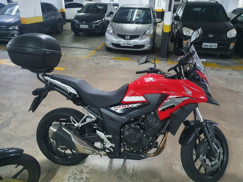 Honda Cb500x Abs 2019 Vermelha