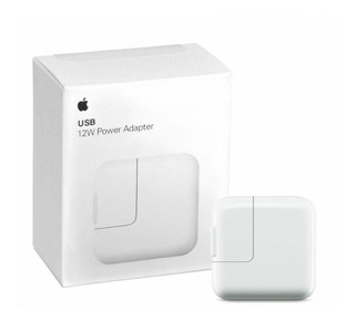 Cargador Apple Original Usb 12w iPad - iPhone 7 8 X Xs Xr - Power Adapter