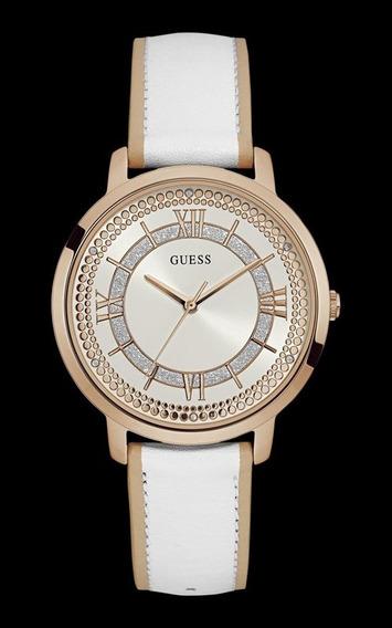 Relógio Guess Feminino Branco E Rosé 92635lpgdrc4