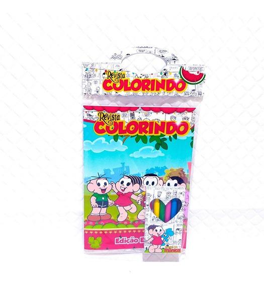 5 Kits Revista Colorir - Arquivo Digital De Corte