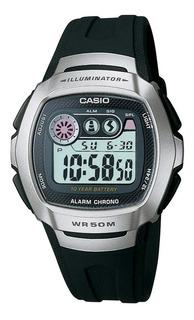 Reloj Casio W-210-1av Hombre Digital Wr50 Agente Oficial Jr