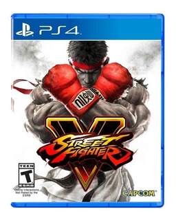 Street Fighter V 5 Ps4 Nuevo Disponible