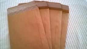 Envelope De Papel Kraft De 80 Gr 14x20 C/bolha (100 Peças)