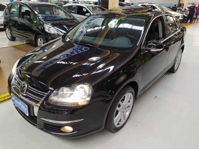 Volkswagen Jetta 2.5 Preto 2009 (automático + Couro + Teto)