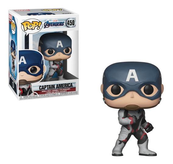 Funko Pop! Marvel: Avengers Endgame - Captain America #450
