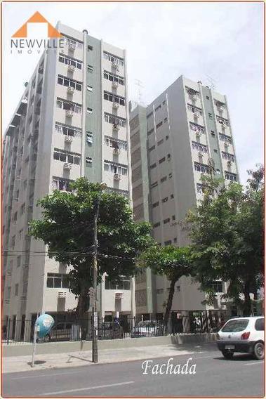 Apartamento Com 3 Quartos Para Alugar, 90 M² Por R$ 1.352/mês - Boa Viagem - Recife/pe - Ap1934