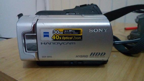 Filmadora Digital Sony Dcr-sr45 Handycam