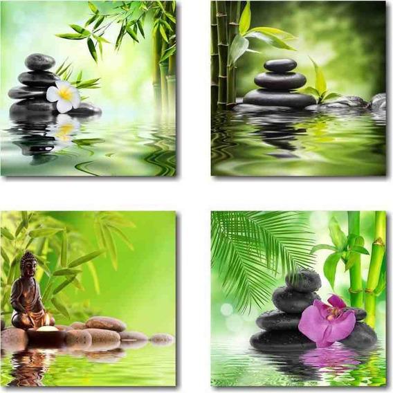 Kit Quadros Decorativos Feng Shui Melhor Preço