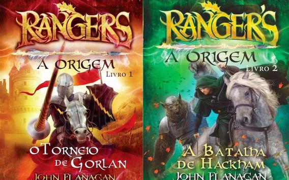 Coleção Rangers A Origem Volumes 1 E 2