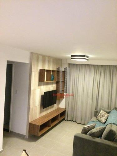 Apartamento Com 2 Dormitórios À Venda, 50 M² Por R$ 340.000,00 - Brás - São Paulo/sp - Ap2748