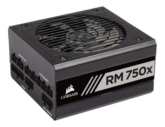 Fonte Corsair Rm750x (modular) 750w 80 Plus Gold