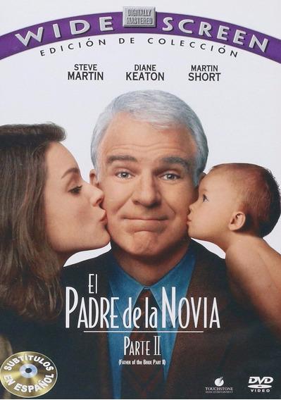 El Padre De La Novia 2 Steve Martin Pelicula Dvd
