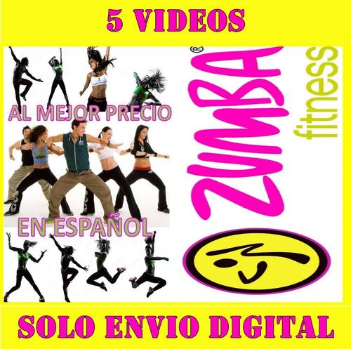 Zumba Fitness Español Bailoterapia En Casa 5videos Adelgaza