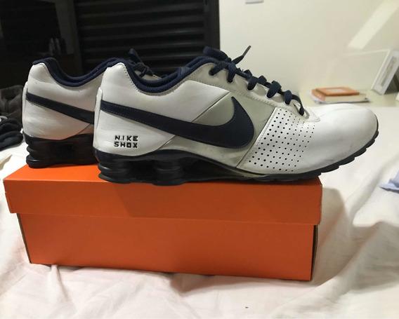 Tenis Nike Shox 43 Branco / 1 Semana De Uso