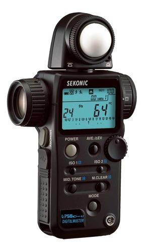 Fotômetro Sekonic L-758 Cine - Canon Nikon Sony