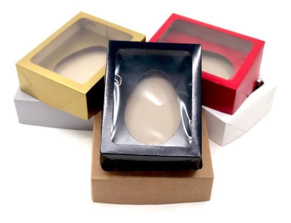 60 Caixas Com Visor Ovo De Colher- Berço 350g