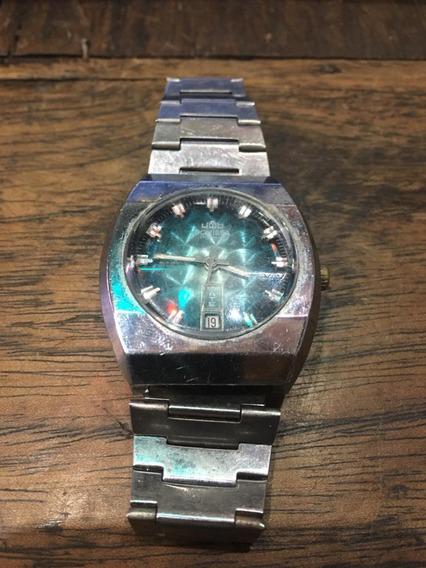 Relógio A Corda Pulso Antigo Jowissa Ñ Automaticc/calend 011