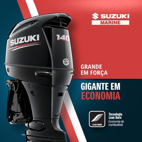 Motor De Popa Suzuki 140hp 4 Tempos 2021 Okm   ( Injeçao )