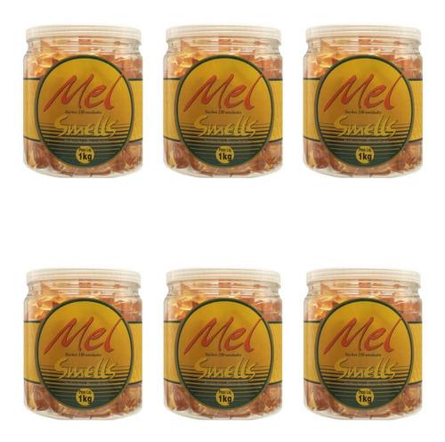 Smells Mel Natural Sachê C/pote 230 Unidades (kit C/06)