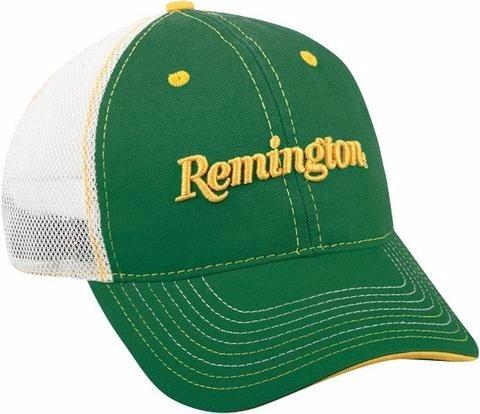 Gorra Remington Verde Con Malla