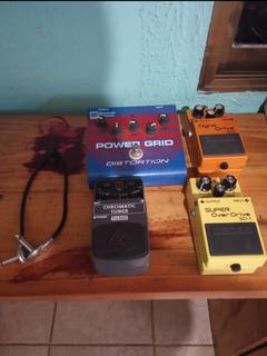 Pedales Analógicos Para Guitarra Eléctrica Pedalboard