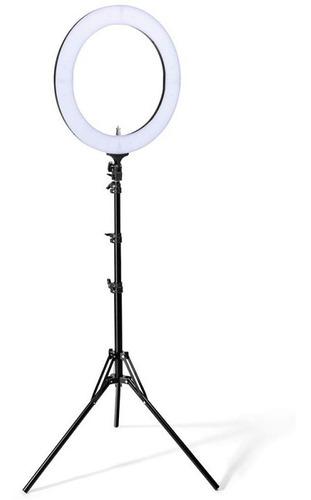 Imagen 1 de 3 de Aro De Luz Led Flash Selfie Anillo De 12 Pulgadas