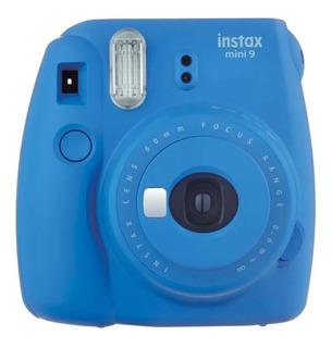 Câmera Fujifilm Instax Mini 9 Azul Cobalto / Varias Cores