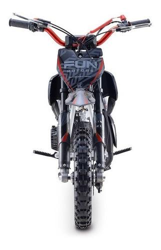 Mini Moto Cross 49cc 2t Super Vermelha
