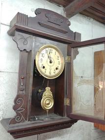 Relogio Antiguidade Português Corda Pendulo Legítimo Raridad