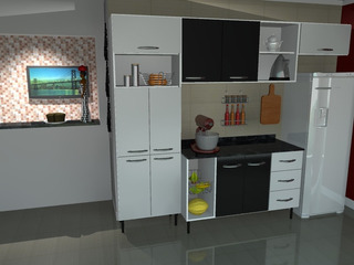 Móveis Kaleby Cozinha Completa Monalisa 100% Mdf Duratex