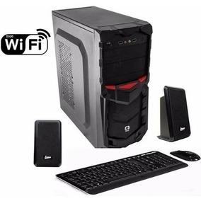 Computador Cpu Intel Core I3 2100 4gb Ddr3 Hd 500gb + Wi Fi