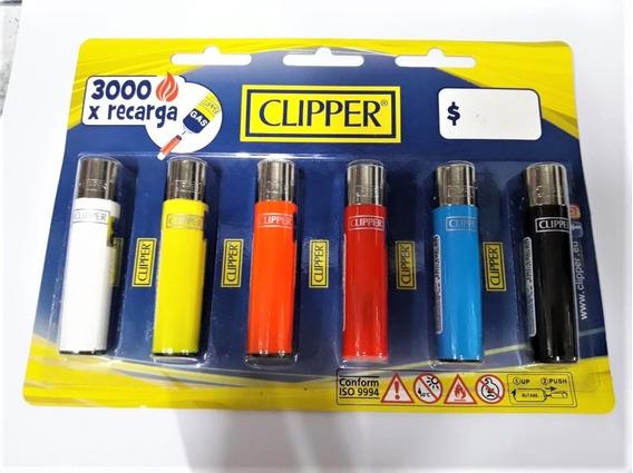 Encendedor // Clipper // Maxi // Colores / Recargables X6