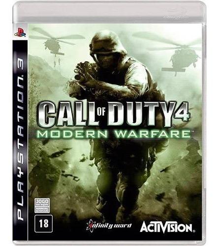 Jogo Call Of Duty 4 Modern Warfare Fisico Original Seminovo