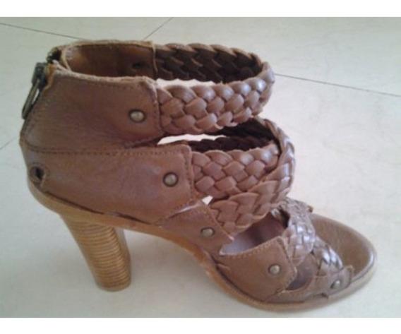 Zapatos De Cuero Importados Marca Zara