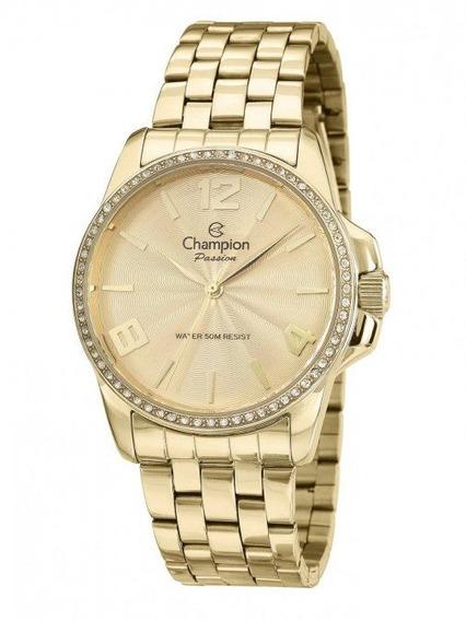 Relógio Champion Passion Analógico Feminino Cn29801g Dourado