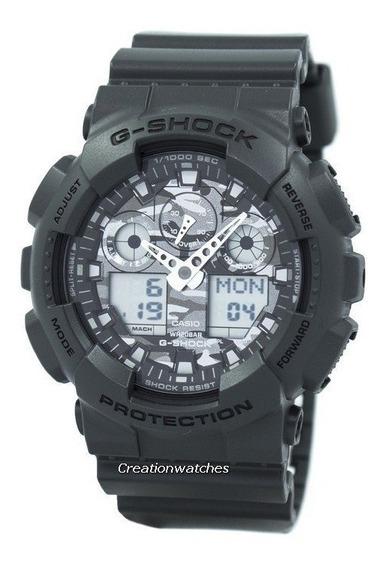 Relógio Casio G-shock Original Ga-100cf-8adr Original +frete