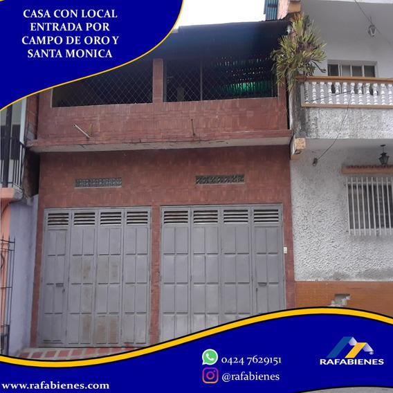 Casa De 3 Niveles Con Local Comercial En Santa Monica Av 1