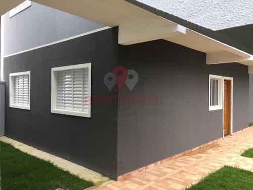 Casa Em Condomínio Para Venda Em Mogi Das Cruzes, Vila São Paulo, 2 Dormitórios, 1 Banheiro, 1 Vaga - 569_1-1772384