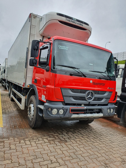 Mercedes-benz Atego 2426 6x2 Baú Refrigerado / Financiamos