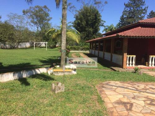 Imagem 1 de 30 de Chácara Com 2 Dormitórios À Venda, 5680 M² Por R$ 790.000,00 - Parque Das Garças - Santo André/sp - Ch0037