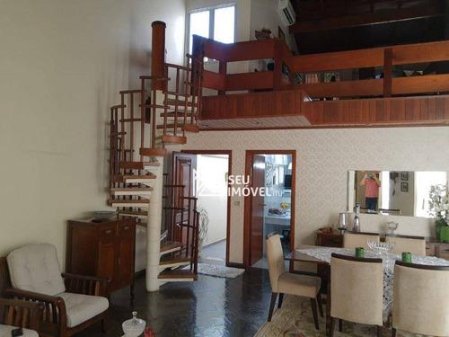 Casa Com 3 Dormitórios À Venda, 210 M² Por R$ 900.000 - Centro - Itu/sp - Ca2243