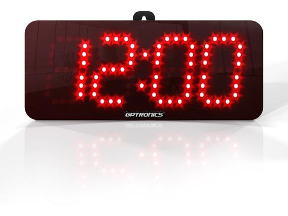 Cronômetro Relógio Esportivo Led Digital Com Bip E Bateria