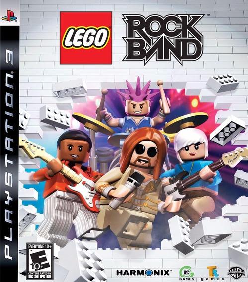 Lego Rock Band Original Ps3 Midia Fisica