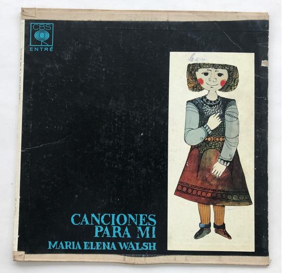 Disco Canciones Para Mi Maria Elena Walsh Vinilo
