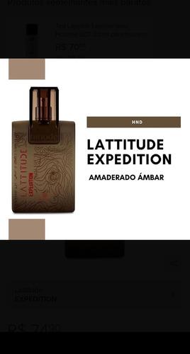 Imagem 1 de 4 de Perfume Latitude Madeirado 100ml Lacrado
