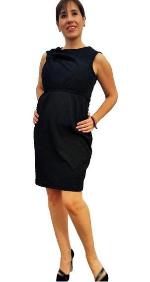Vestido De Lactancia Y Embarazo Ropa Maternidad -leira