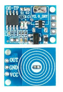 Sensor Módulo Touch Capacitivo, Dimmer 5-24v Arduino, Leds