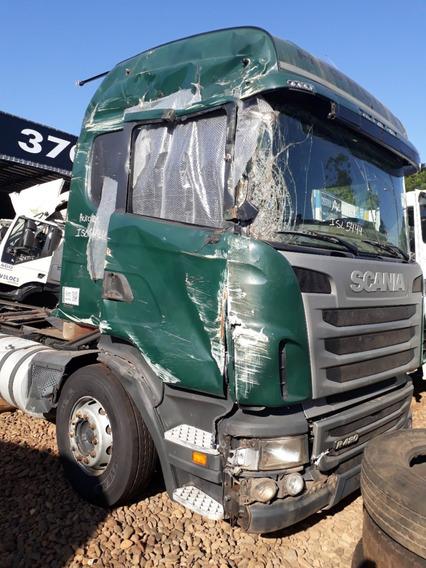 Sucata Scania R420 2011 Para Venda De Peças Usadas