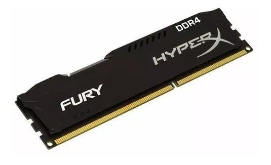 Memória Kingston Hyperx Fury Ddr4 8gb 2400mhz Pc Gamer Origi